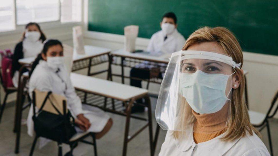 Vuelta a las aulas: San Juan retomó las clases presenciales
