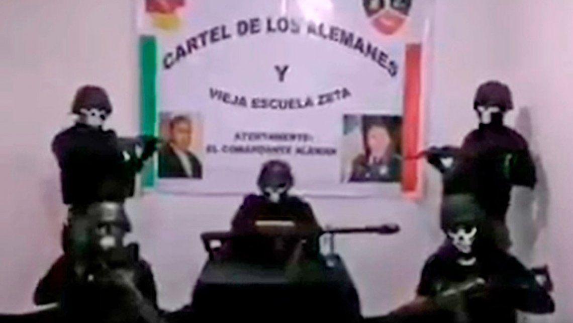 Cartel mexicano amenaza a rivales y al gobierno: O se alinean, o se mueren