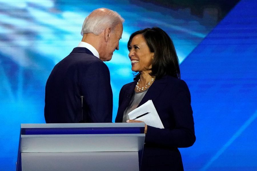 El demócrata Joe Biden eligió a Kamala Harris como compañera de fórmula