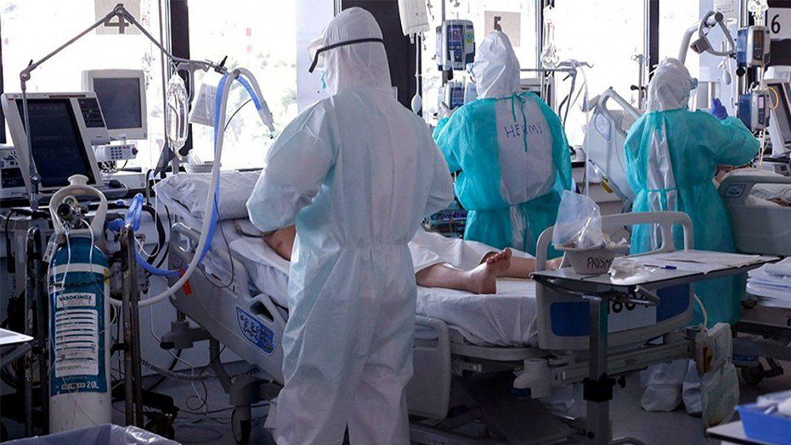Coronavirus: el 50 por ciento de los internados en terapia intensiva sobrevive