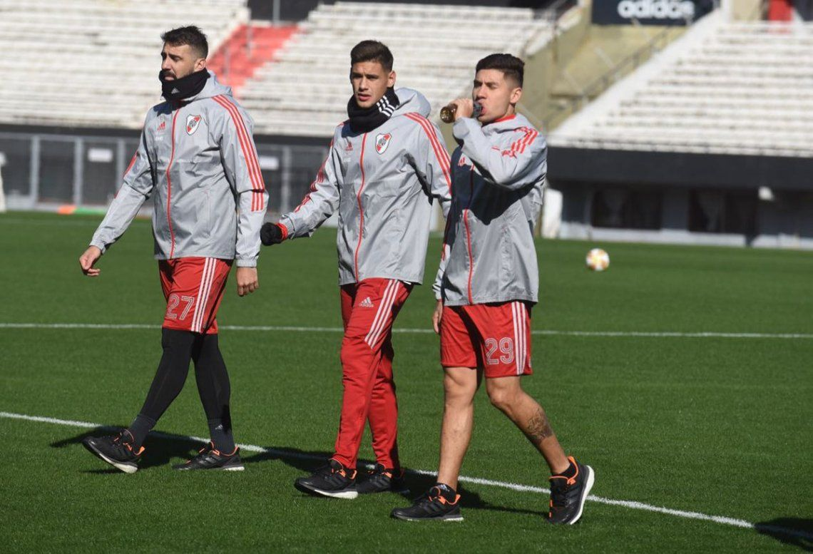 River: Suárez dejó Córdoba y se suma mañana con Juanfer