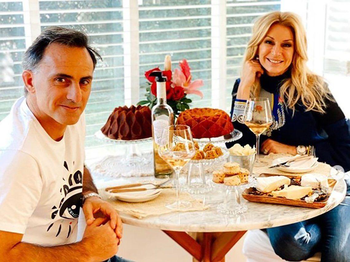 Diego y Yanina Latorre.