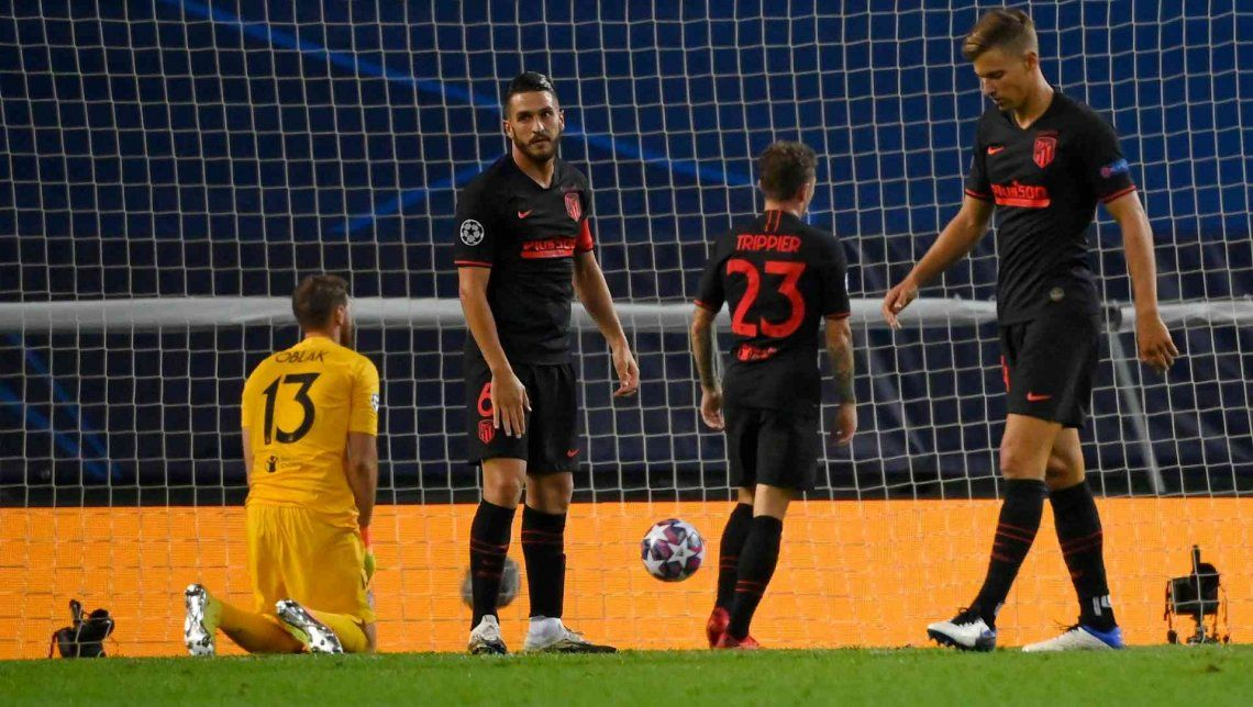 Champions League: el Atlético de Simeone perdió ante Red Bull Leipzig y quedó eliminado