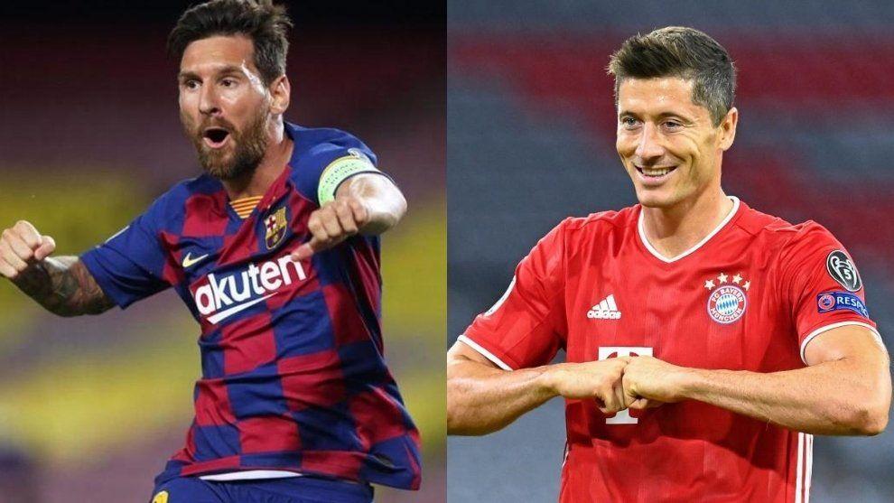 Goleadores: Messi y Lewandowski son las máximas esperanzas de ambos equipos.