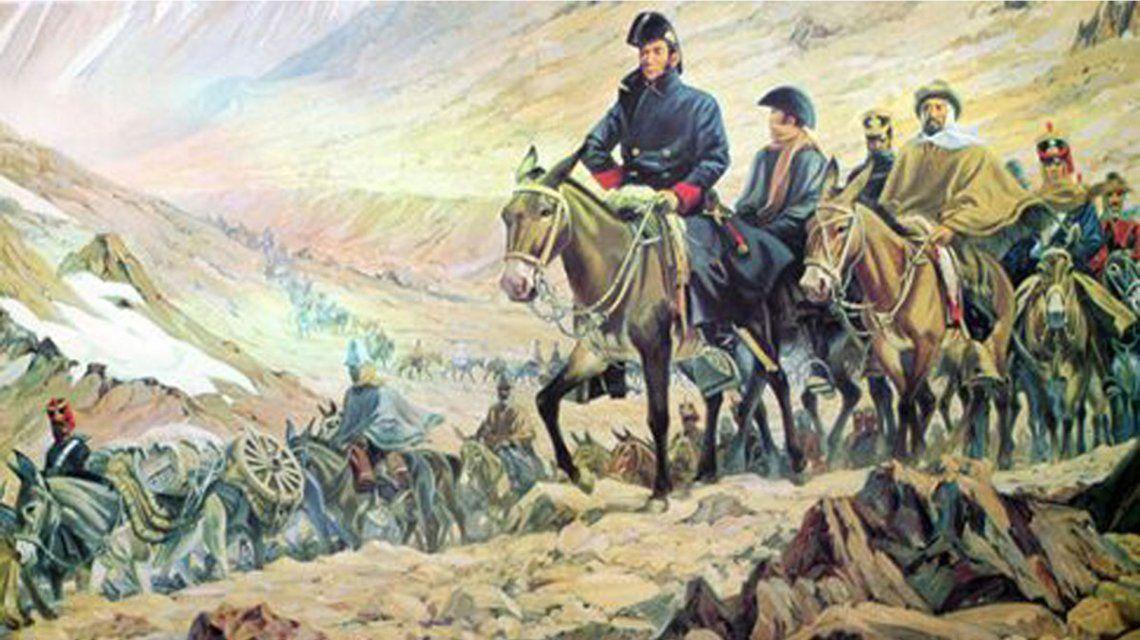 Cruce de los Andes: reviví de forma virtual la hazaña histórica de San Martín y su ejército libertador