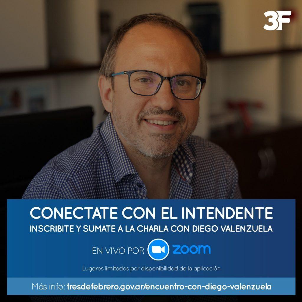Tres de febrero: Intendente Diego  Valenzuela amplió y subió el estacionamiento medido