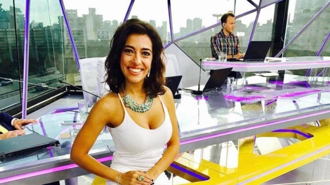 Roxy Vázquez, conductora de TN, dio positivo de coronavirus