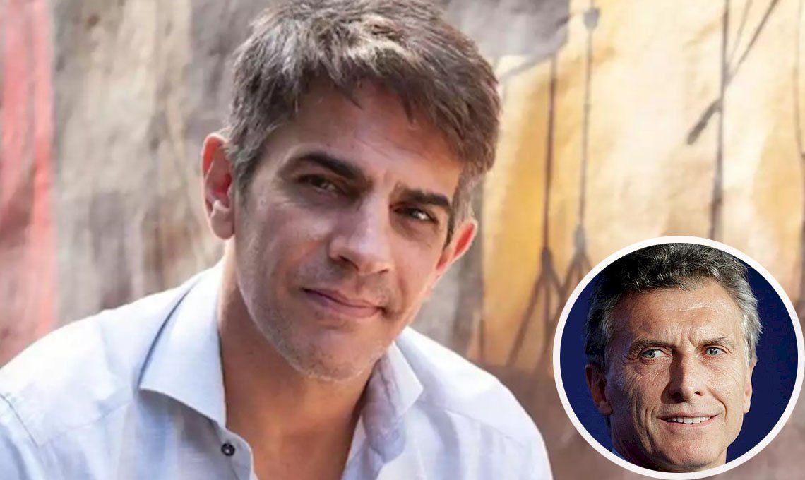 Pablo Echarri opinó sobre el viaje de Macri a Francia: Me generó una envidia insana