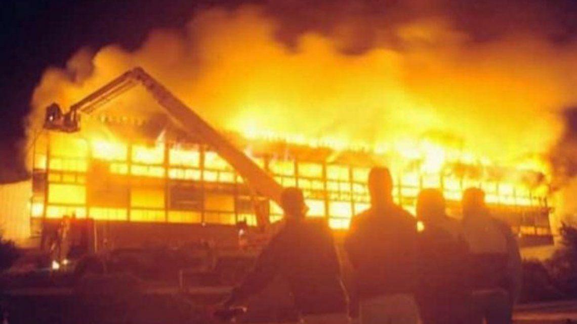 incendio en el teatro del complejo Casino de Necochea
