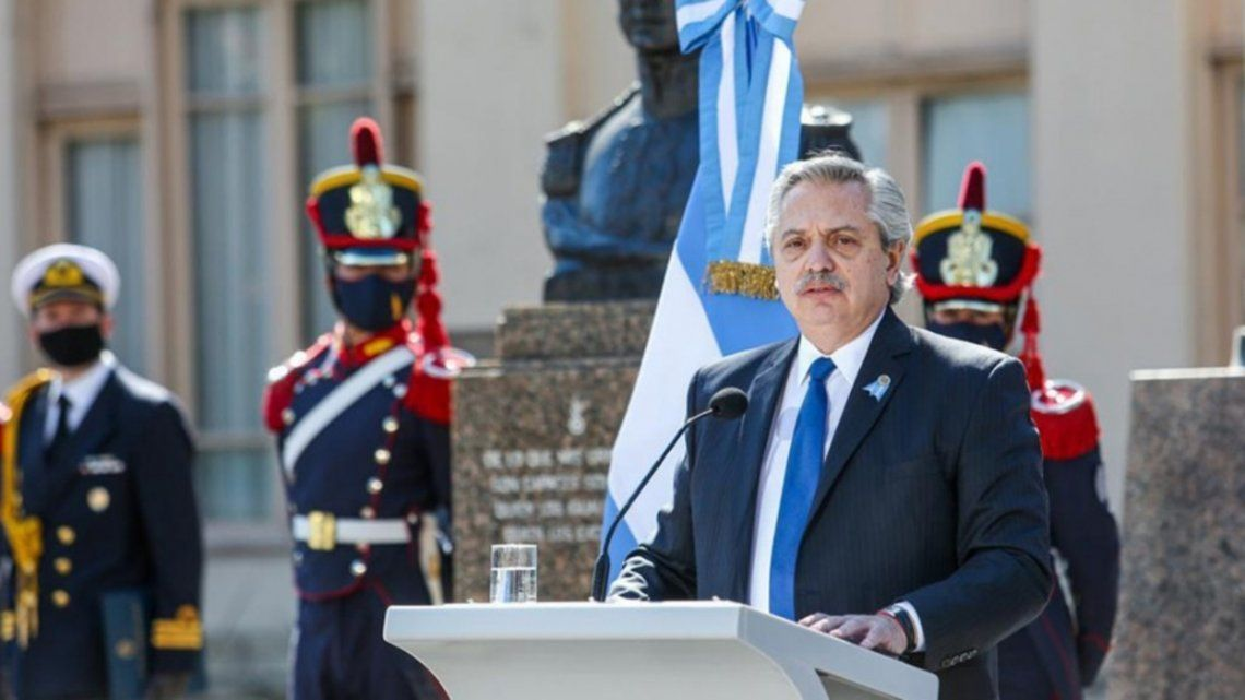 Fernández: El orgullo nacional se gana plantándose frente a los acreedores
