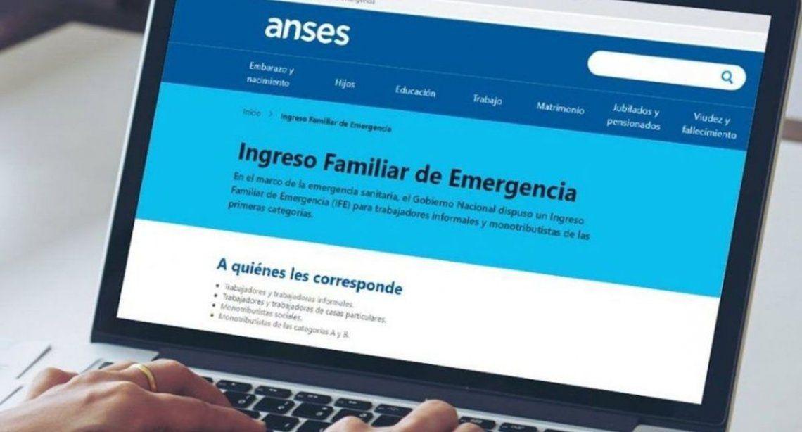 ANSES comunicó el cronograma completo de pago del IFE