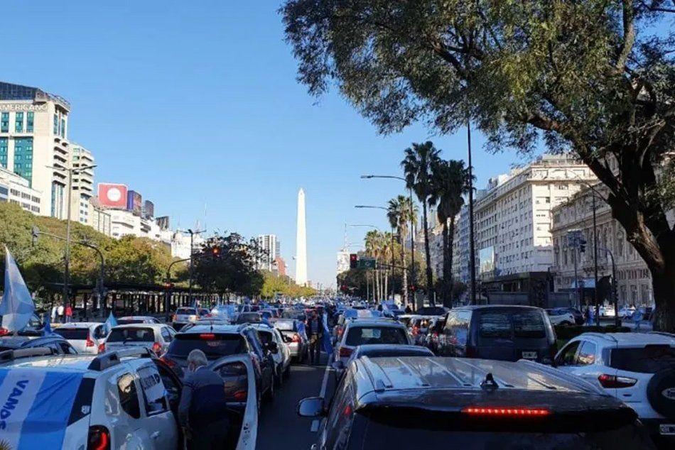 #17A : Marchas en el Obelisco y en otros puntos del país