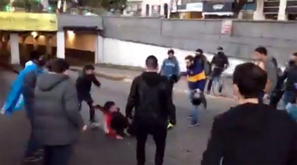#17A: manifestantes lincharon a delincuente que le robó el teléfono a una mujer