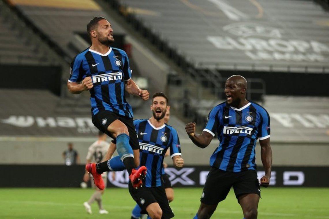 Inter venció 5 a 0 al Shakthar con dos goles de Lautaro Martínez