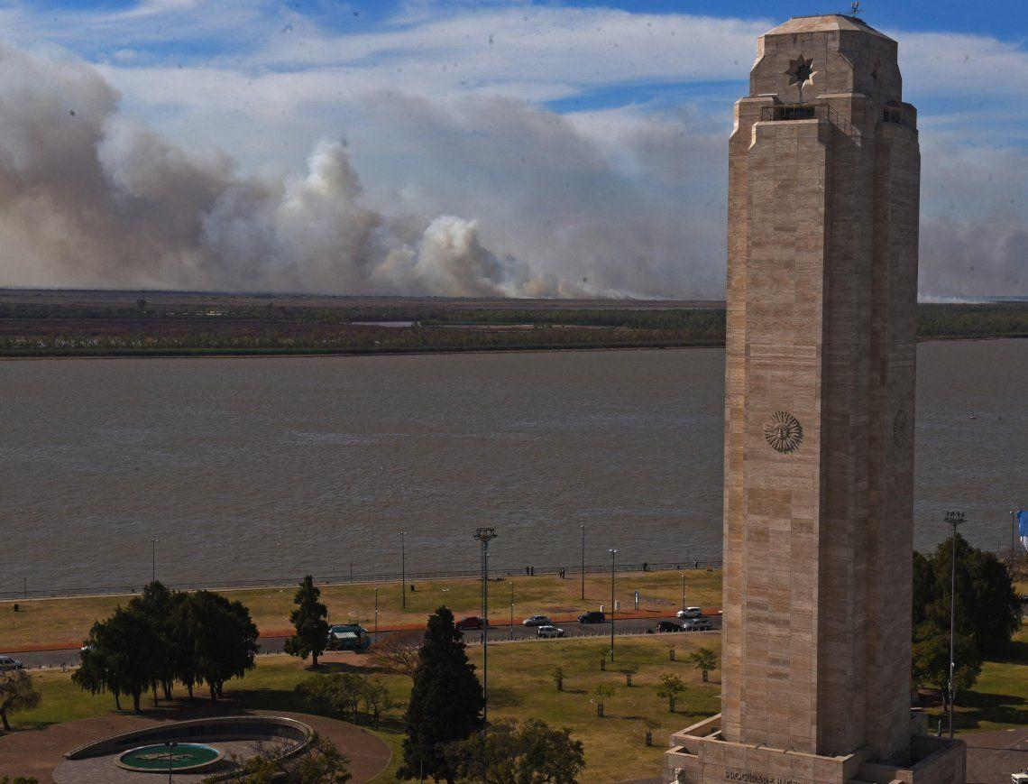 Una imagen que se repite en Rosario.
