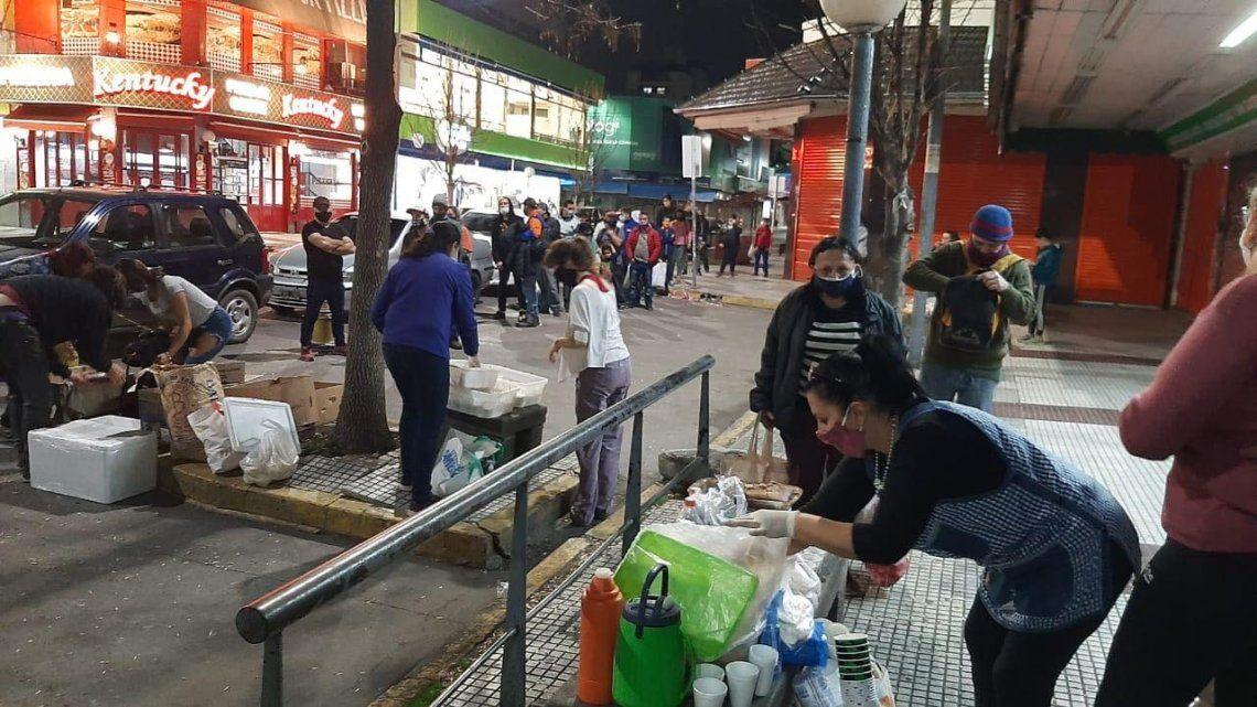 Grupo solidario Manos Abiertas reforzó asistencia