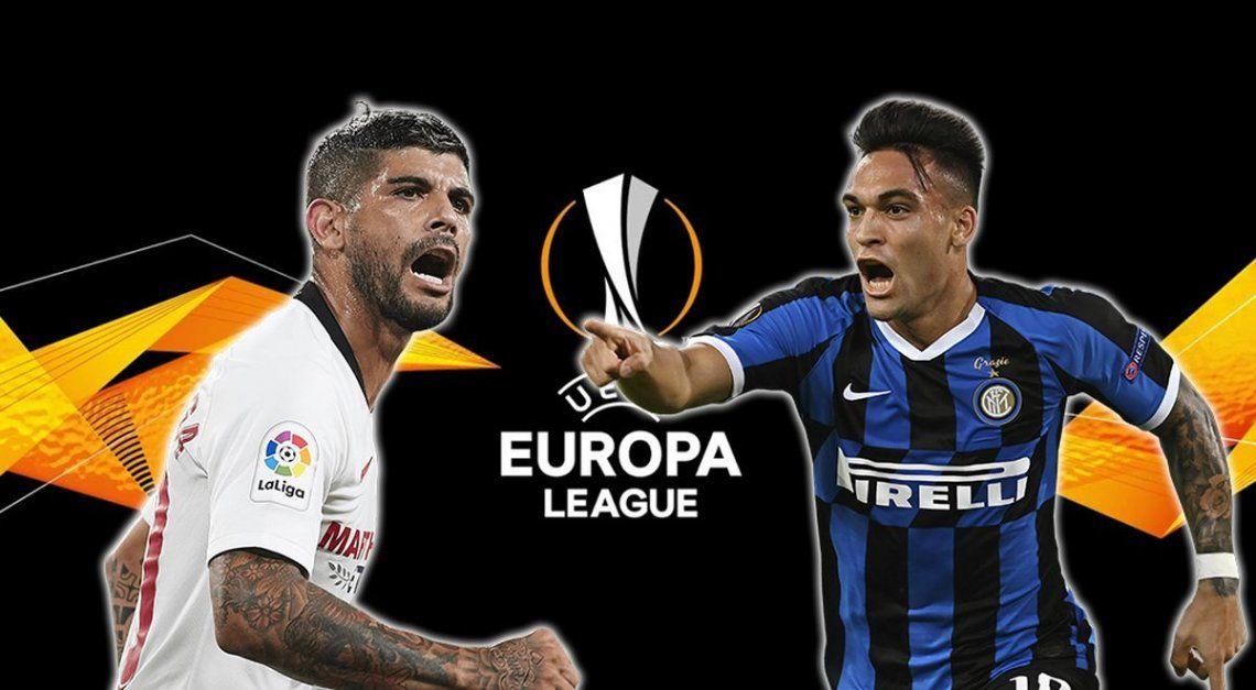 Inter vs. Sevilla: la final de la Europa Legue, con varios argentinos