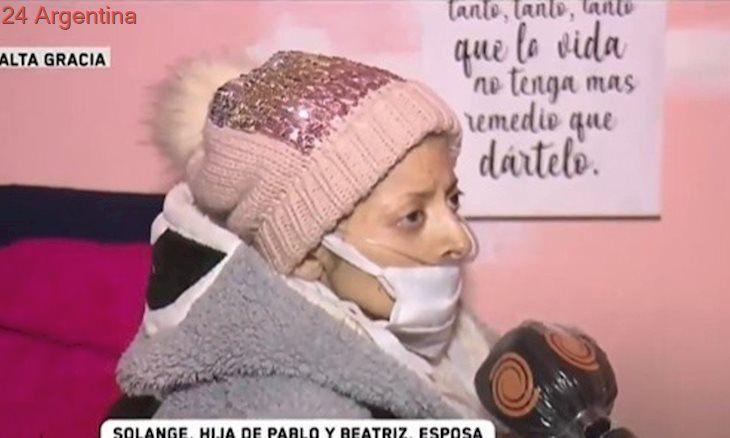 Solange calificó de inhumano que las autoridades cordobesas no le dejaran ver a su padre