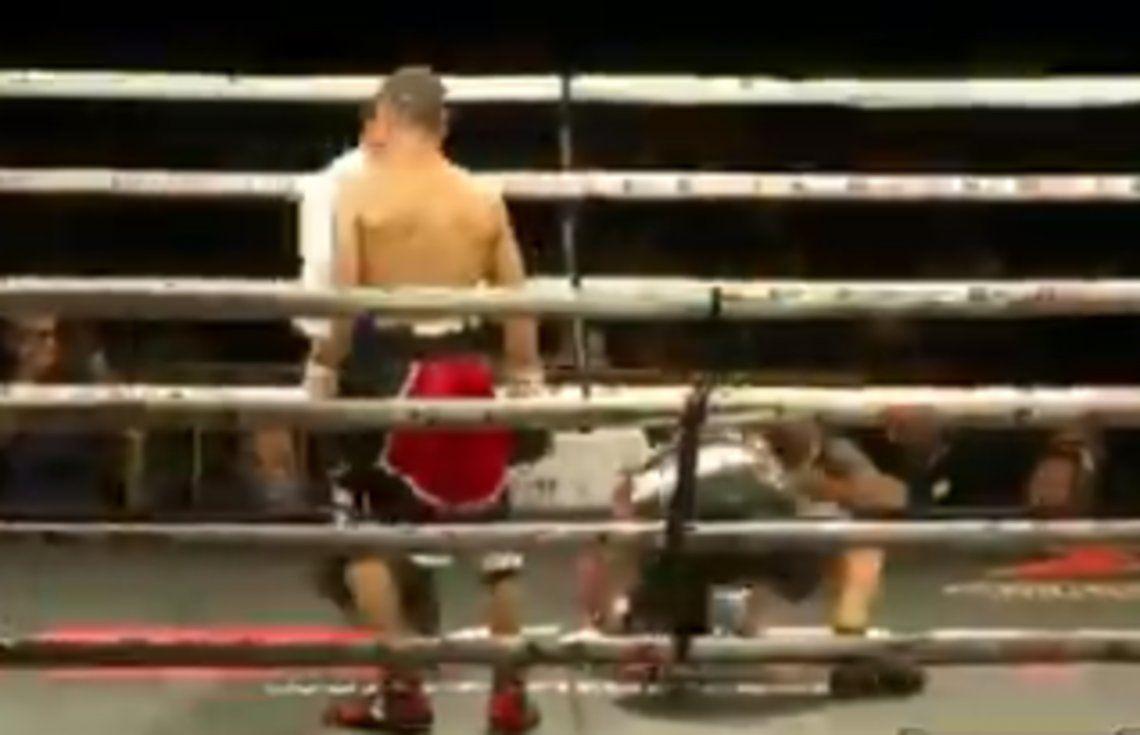 Maravilla Martínez, ganó por KOT  en su regreso