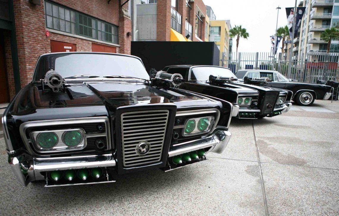 Para la película de 2011 se prepararon alrededor de 30 autos.