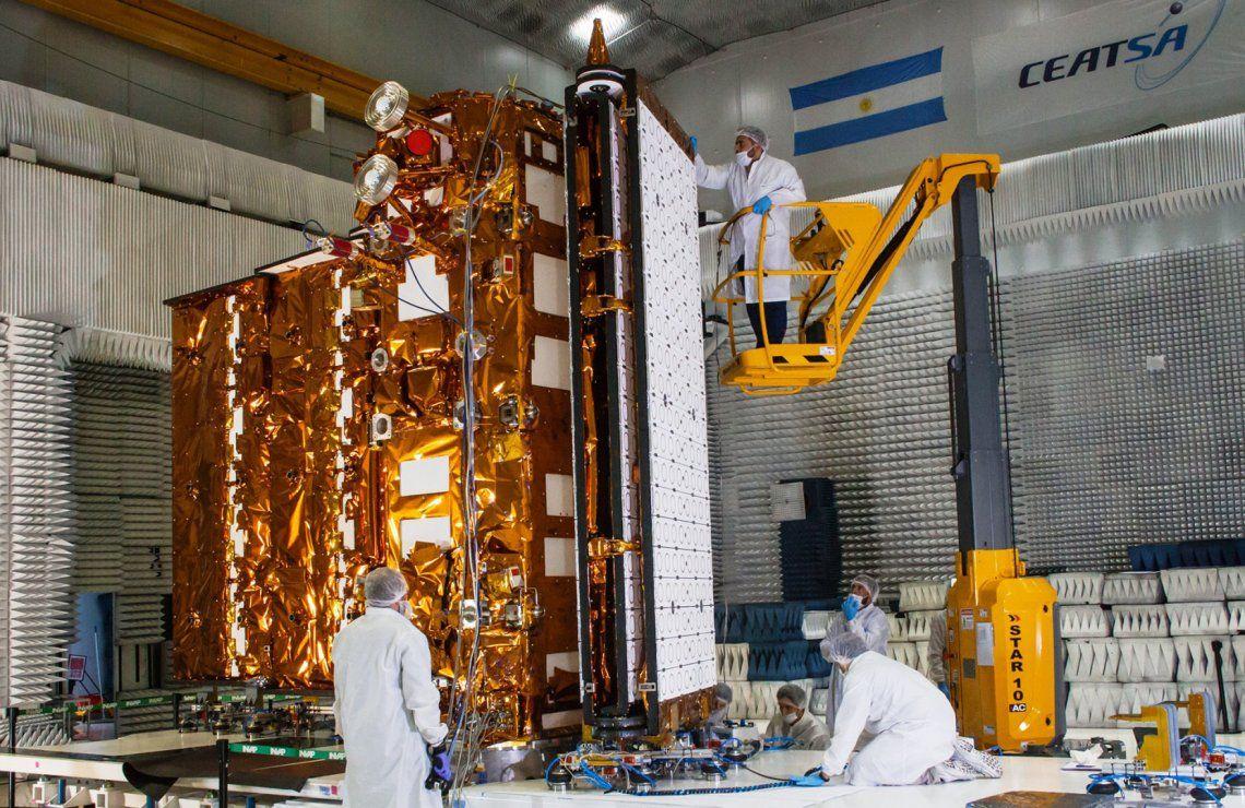 El satélite argentino Saocom 1B ya está listo para su lanzamiento