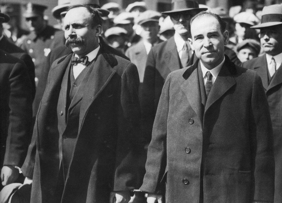 Hace 93 años, Sacco y Vanzetti fueron a la silla eléctrica sin presunción de inocencia