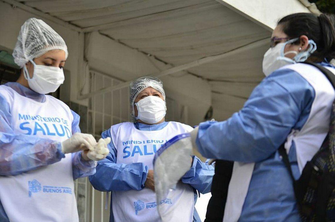 Coronavirus: Confirmaron 8.713 casos y 382 nuevas muertes