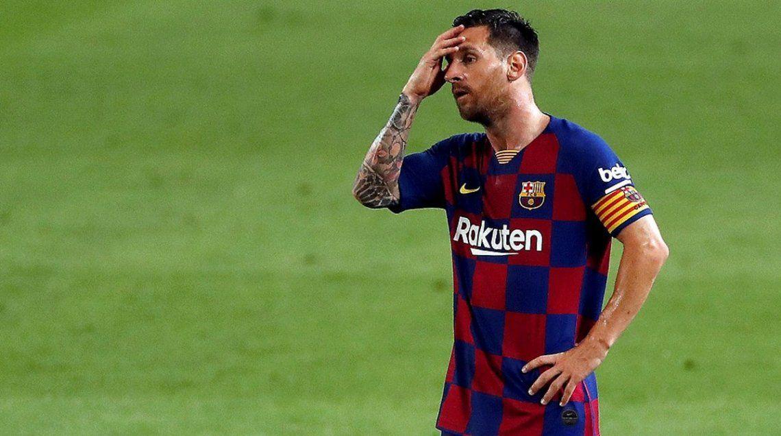 Tensión en Barcelona: Messi decidió no presentarse a las pruebas médicas