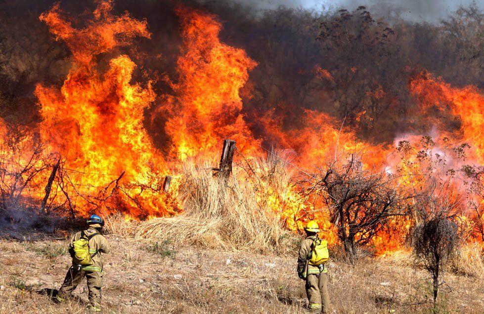 Sin tregua: diez provincias continúan afectadas por los incendios forestales