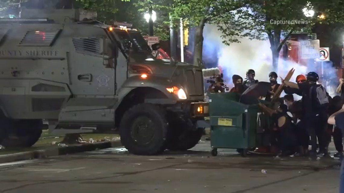 EEUU: dos muertos y un herido en las protestas por el ataque policial a Jacob Blacke