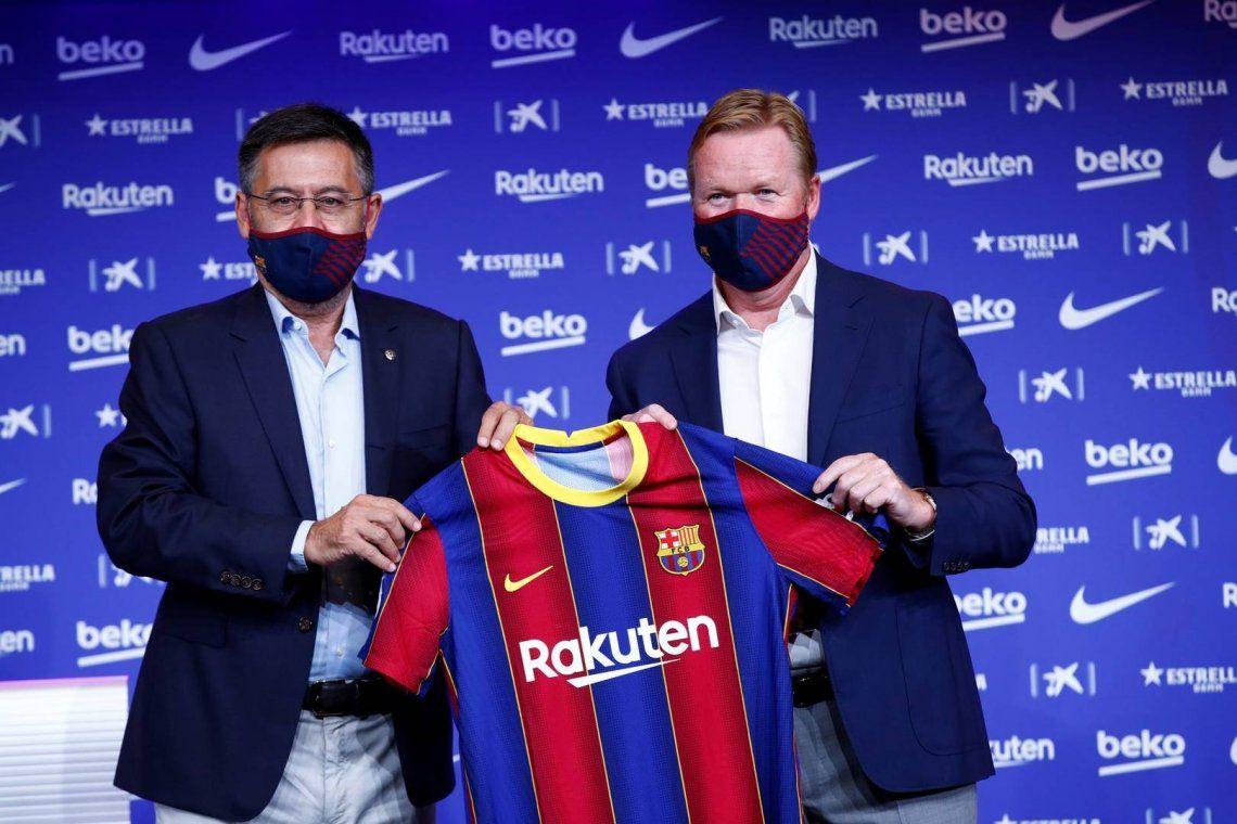 Messi dejó desnudo al Barça