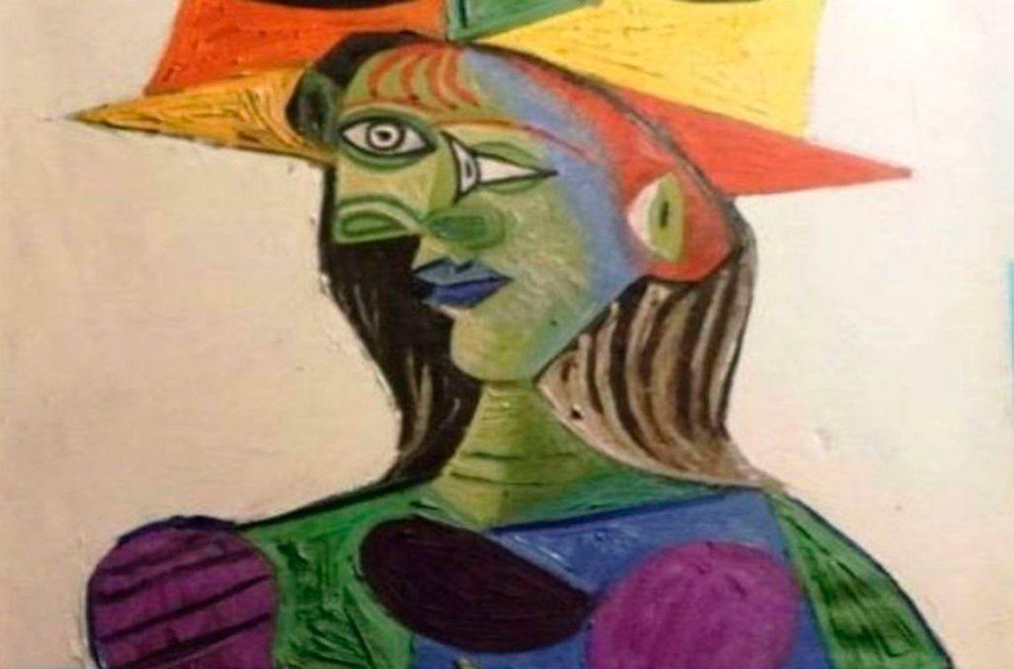 Condenan a un año y medio de cárcel a joven que dañó obra de Picasso