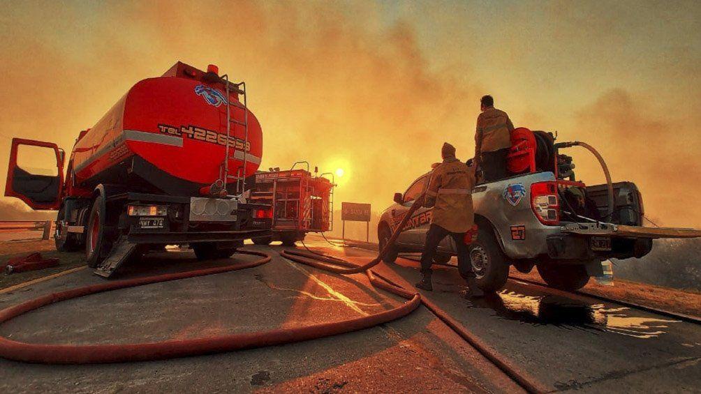 Incendios en Argentina: nueve provincias siguen afectadas