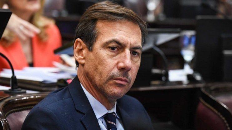 Senador Luis Naidenoff, jefe de la bancada de Juntos por el Cambio
