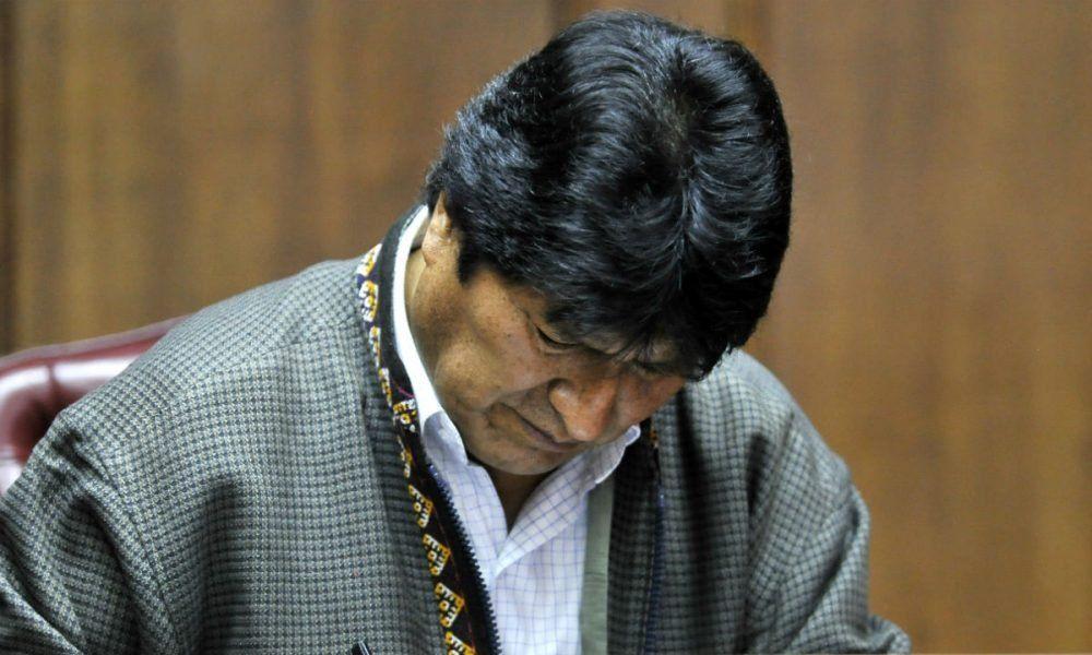 Inhabilitaron a Evo Morales para postularse a senador en octubre