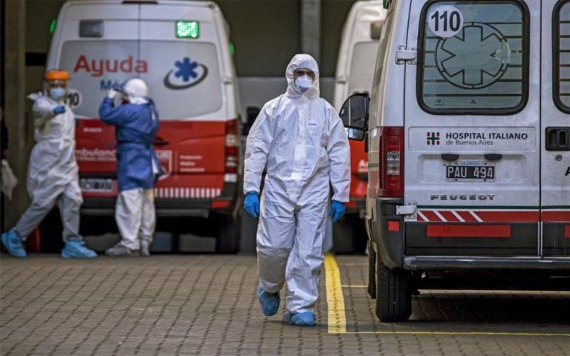 Coronavirus en Argentina: 262 muertes y 10.684 nuevos casos en las últimas 24 horas