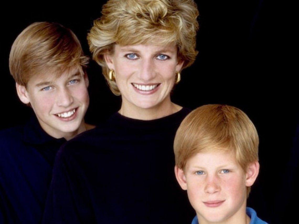 A 23 años de su muerte, los hijos de Lady Di realizarán un emotivo homenaje