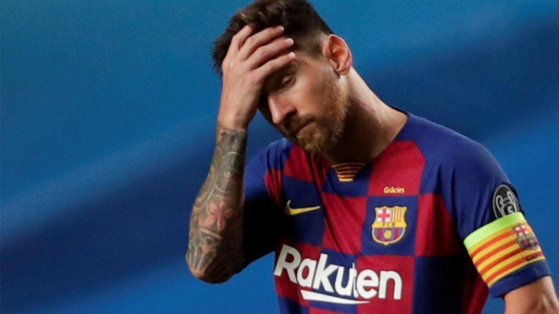 Lionel Messi analiza quedarse un año más en el Barcelona