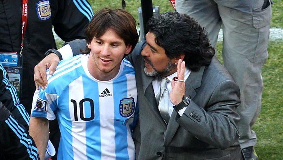 De aquel Maradona a este Messi