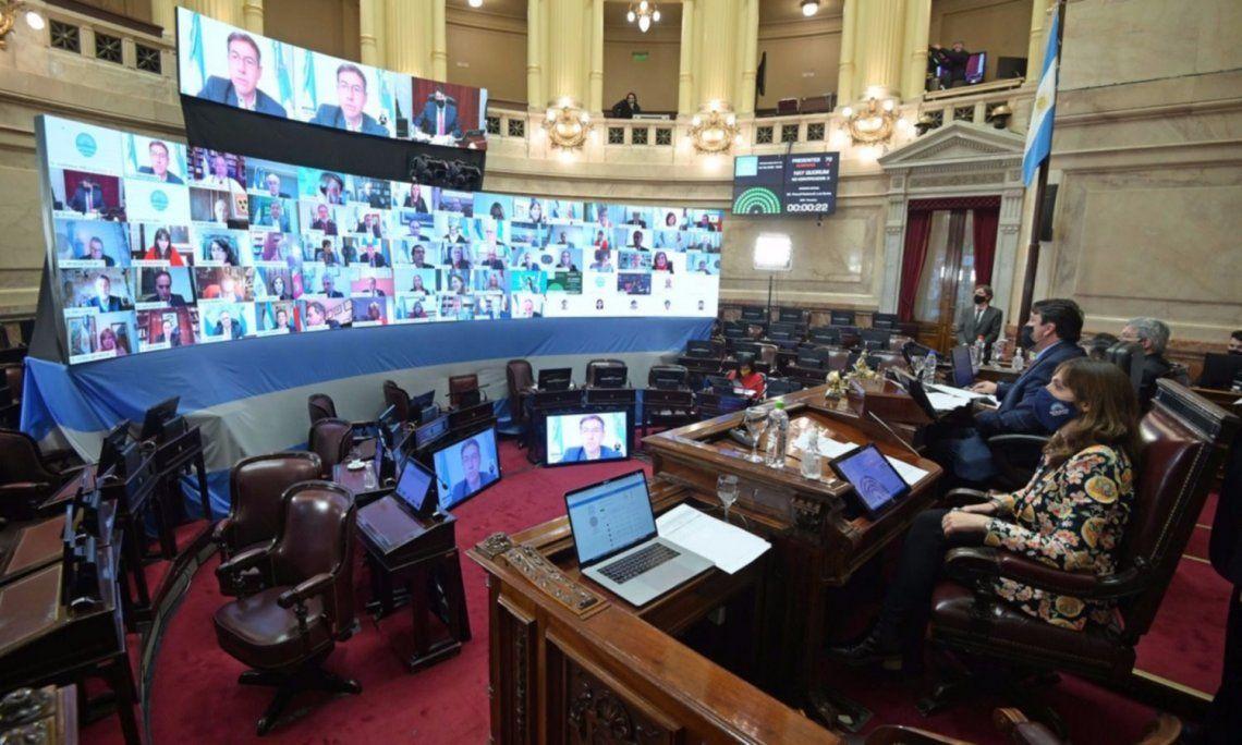 Los gremios legislativos rechazaron el pedido de Juntos por el Cambio y piden que continúen las sesiones remotas
