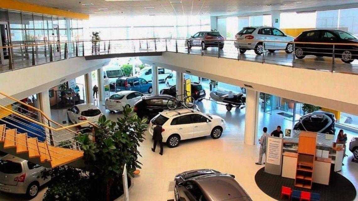 Los patentamientos de autos cayeron 31,5% en agosto