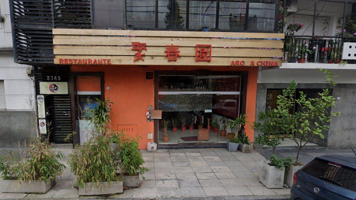 Recoleta: asesinan a balazos a un chino en un restaurante donde operaba juego ilegal
