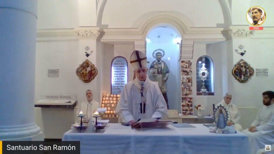 San Ramón Nonato: La esperanza nos protege de todo desaliento, aseguró Monseñor Poli