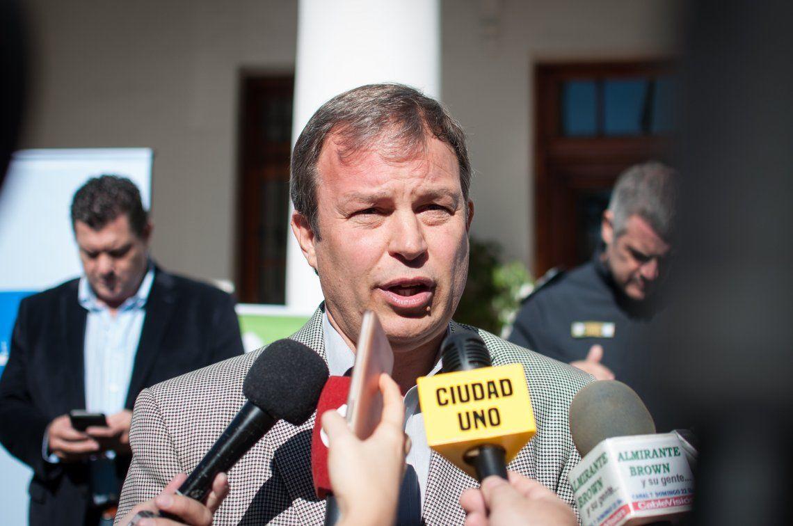 Mariano Cascallares, intendente del municipio de Almirante Brown