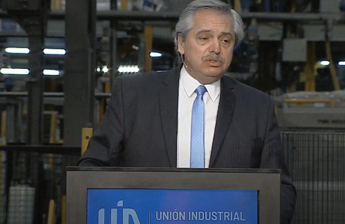 Fernández abogó por un capitalismo en el que la industria sea central
