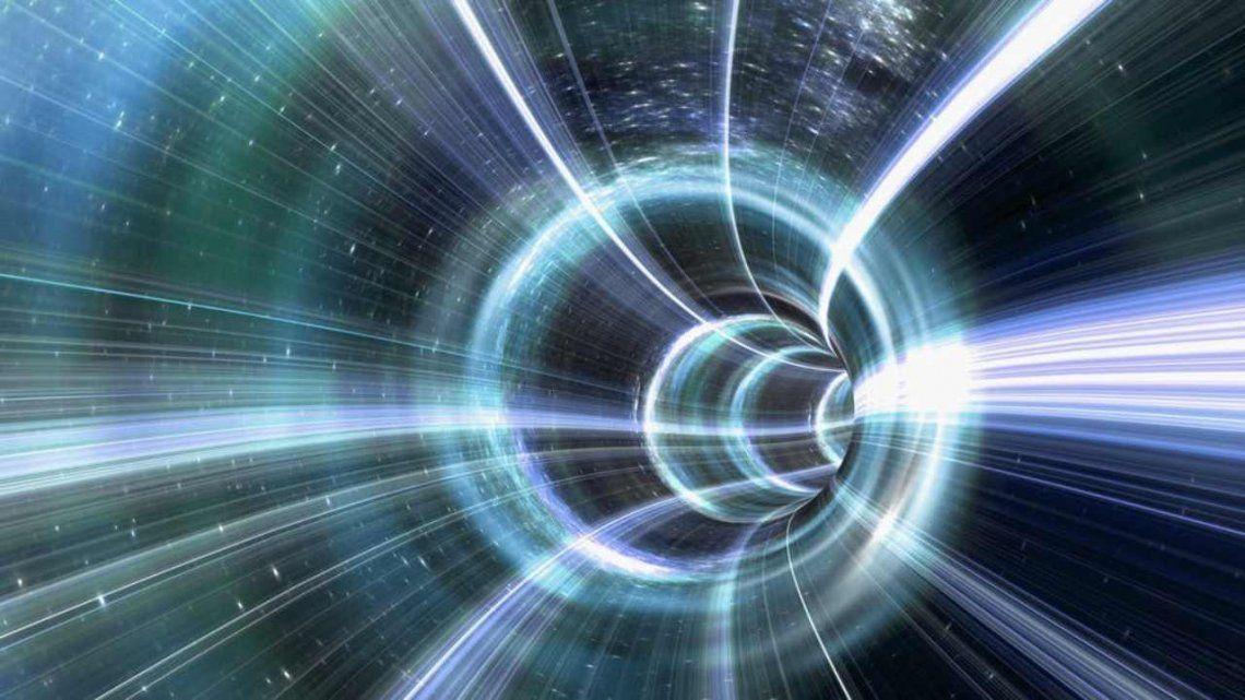 Agujero de gusano de la película Interstellar