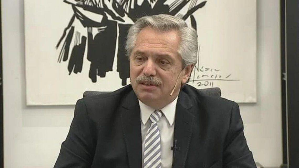 Alberto descartó retirar el proyecto de Ley de Reforma Judicial
