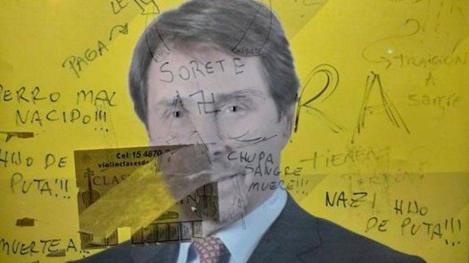 La DAIA repudió el ataque antisemita que sufrió Eduardo Feinmann