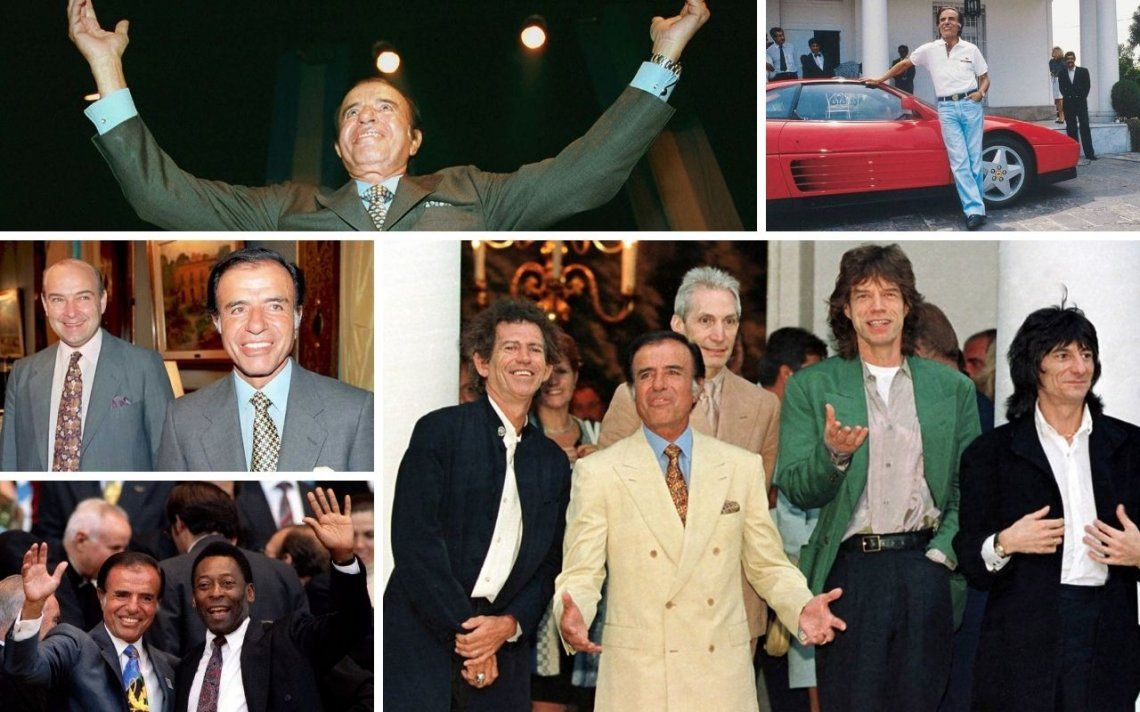 ¡Síganme!, la serie de Carlos Menem: cuándo se estrena
