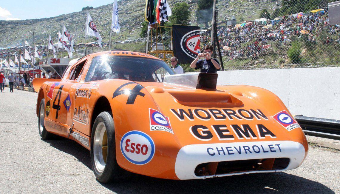 Pairetti condujo uno de los autos más emblemáticos del Turismo Carretera: el Trueno Naranja.
